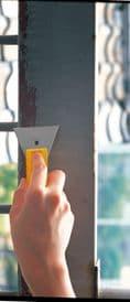 Olfa Professional Razor Edge Scraper with Stainless Steel fixed Blade 60mm      OLF/SCRL